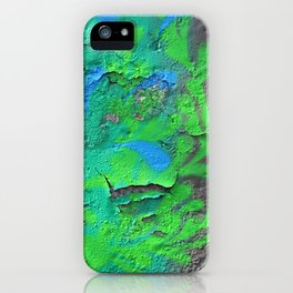 Green Entropy II iPhone Case