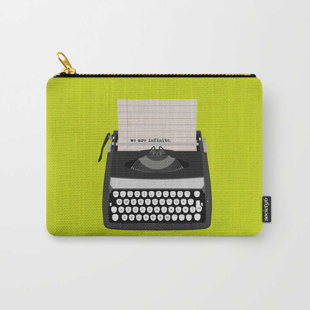 The Perks Of Being Wallflower Carry-all Pouch by Sunday CAP2426299