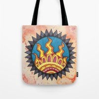 sublime Tote Bags featuring Sublime by Soul Flow Creations