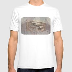 hands can hold Mens Fitted Tee MEDIUM White
