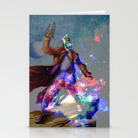 star lord Stationery Cards featuring Star-lord by KP Designs