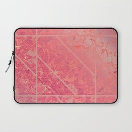 Pink Marble Texture G281 Laptop Sleeve