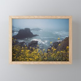 Yaquina Head Framed Mini Art Print