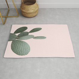Cactus Pink Photography Rug