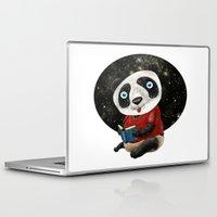 red panda Laptop & iPad Skins featuring Panda by gunberk