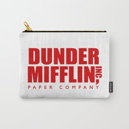 Dunder Mifflin Logo Carry-All Pouch