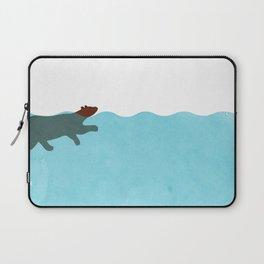 Tired Bear Laptop Sleeve