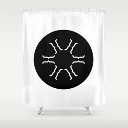 Typeflake 07 Shower Curtain