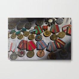 RussianMedals_Afghanistan Metal Print