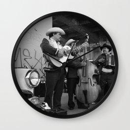Rolas y Ranflas Wall Clock