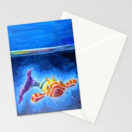 Fish Pup Stationery Cards