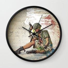 Tank Girl Wall Clock