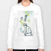 writing Long Sleeve T-shirts featuring writing by valentina biletta