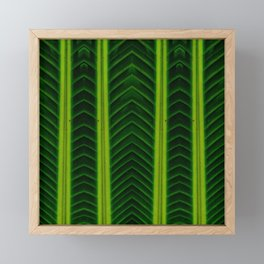 Palm line Framed Mini Art Print