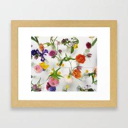 Spring Flowers - JUSTART (c) Framed Art Print