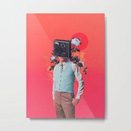 Phonohead Metal Print