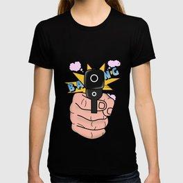 gun comics  T-shirt