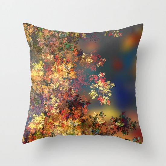 A Beautiful Summer Afternoon Throw Pillow