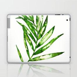 Green ink painting - fern Laptop & iPad Skin