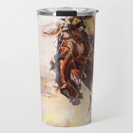 A Bad Hoss Charles Marion Russell Travel Mug