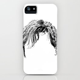 First I do coffee then I do HAIR iPhone Case