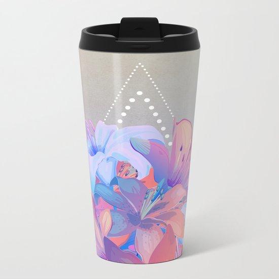 lily bouquet Metal Travel Mug