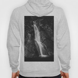Waterfall in Hell Gorge, Slovenia Hoody