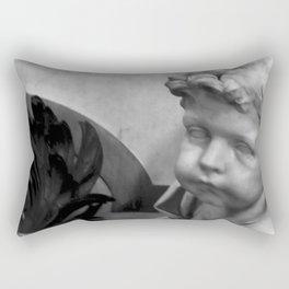 The Haunted Cherub. Rectangular Pillow