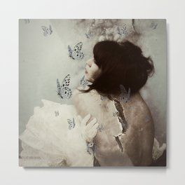 Dreams Series - Broken Metal Print