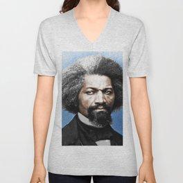 Frederick Douglass Painting Black Lives Matter Unisex V-Neck