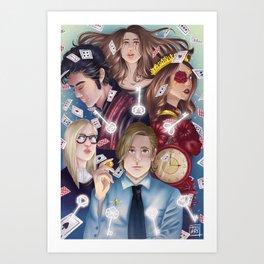 The magicians. Art Print