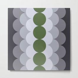 Gradual Kale Metal Print