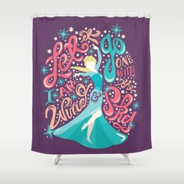 Snow Queen Shower Curtain