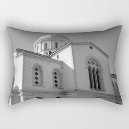 Greek Orthodox Cathedral 2 Rectangular Pillow
