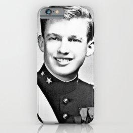 Donald Trump - 1964 New York Military Academy iPhone Case
