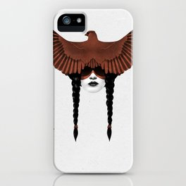 Dark Cardinal iPhone Case