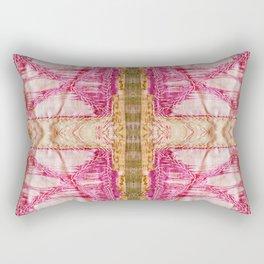 Abstract Crazy Quilt Mandala 1539 Rectangular Pillow