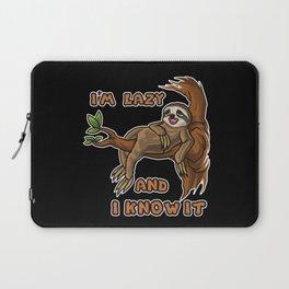 I'm Lazy And I Know It | Sloth Sleeping Animal Laptop Sleeve