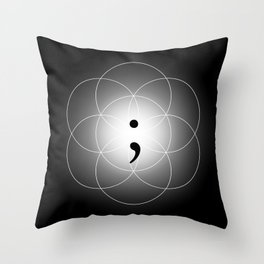 The Seed of - Life goes on Throw Pillow