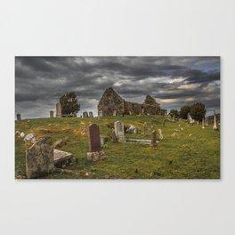 Cill Chriosd Cemetery Canvas Print