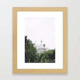 Paris amongst the Trees Framed Art Print