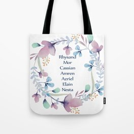 The High Lady's Litany Tote Bag
