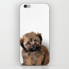 Cocoa, the puppy iPhone Skin