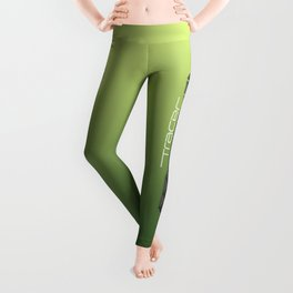 Tracer Neon Green Cosplay Leggings Leggings