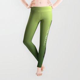 Tracer Neon Green Cosplay Leggings Leggings