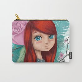 Cute Girl Carry-All Pouch