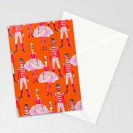 Nutcracker Ballet - Orange Stationery Cards