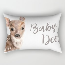 Baby deer Rectangular Pillow