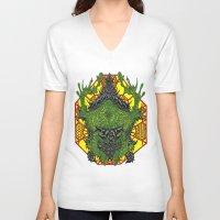 venom V-neck T-shirts featuring Venom by Bryan Yentz