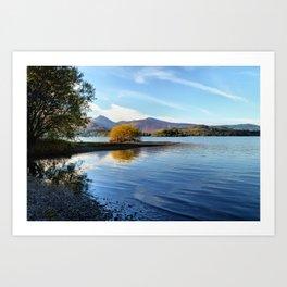 Derwent Water Art Print